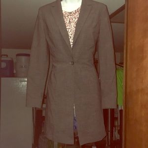 Lined Long Blazer by Express